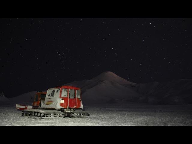 Звёздное небо над Авачинским вулканом Starlapce Avachinsky volcano