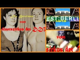 """IX.) DDR - Artisten des 20.Jahrhundert """"Die Berolinas"""" - GDR artists of the 20th century"""