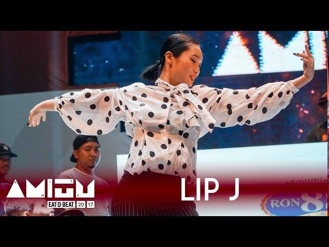Lip J KOR Judge Showcase Eat D Beat AMITY 2017 Bandung Indonesia