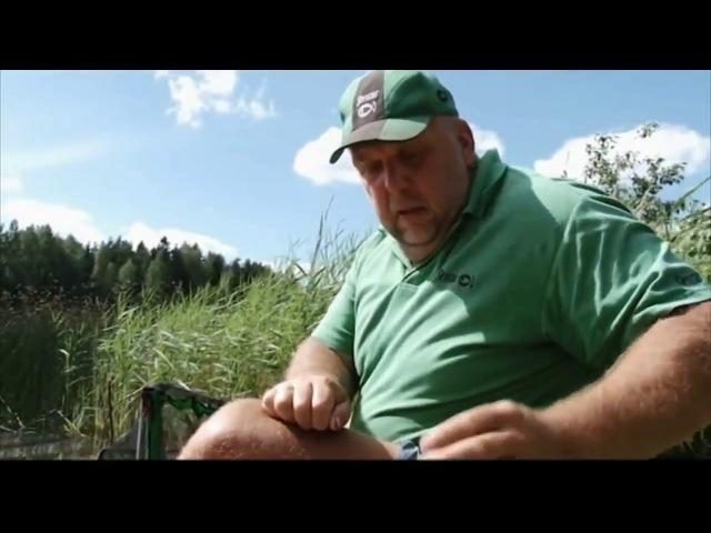 Лов леща летом на фидер с Нормундом Грабовскисом
