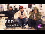 Pharrell Williams - Early interview with N.E.R.D. at Solebox Sneaker Store, Berlin (2008)