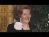 Margaret Thatcher's First Speech at White House as PM!