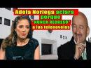Adela Noriega aclara porque NUNCA REGRESÓ a las telenovelas.