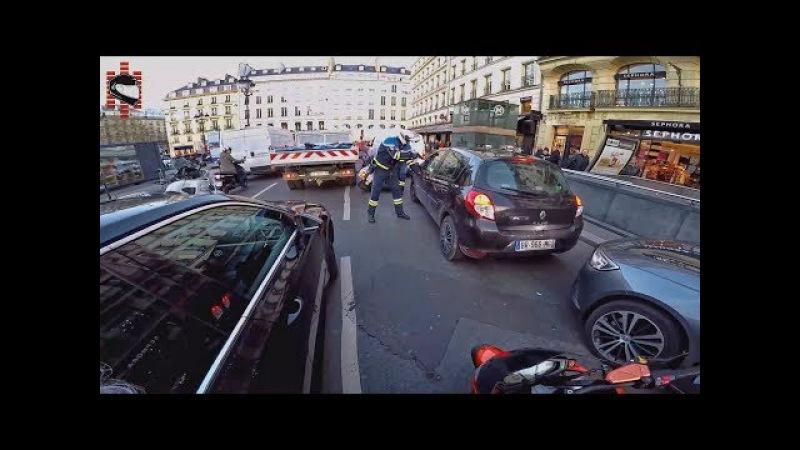 MOTORCYCLE HERO HIT AND RUN INSTANT KARMA 2018