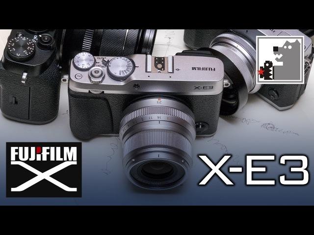 Fujifilm X-E3 | Самый маленький в семействе