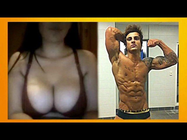 ZYZZ AESTHETICS on CHATROULETTE 21 | HOT GIRLS REACTIONS TO AESTHETICS (Bodybuilding Motivation)