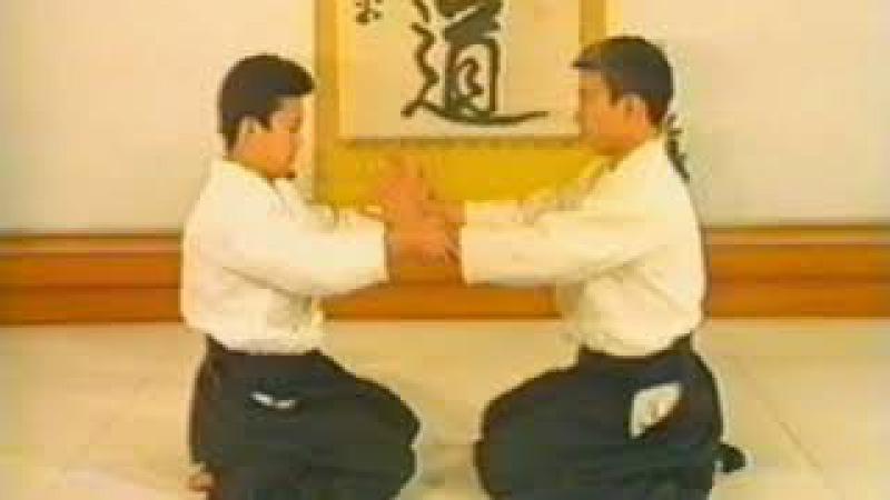 №1 6 6 приемы МоритэруУэсиба Айкидо Aikido 合気道 учебный фильм