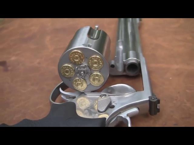 500 SW самый мощный пистолет с разрушительного ранчо