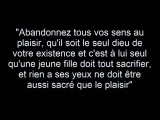 30 Seconds To Mars - Hurricane (french quote)