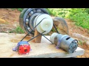 How to make 100% free energy generator without battery with the help of bearings home invention