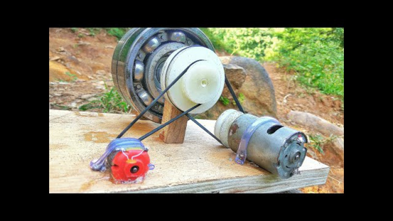 How to make 100% free energy generator without battery with the help of bearings   home invention.