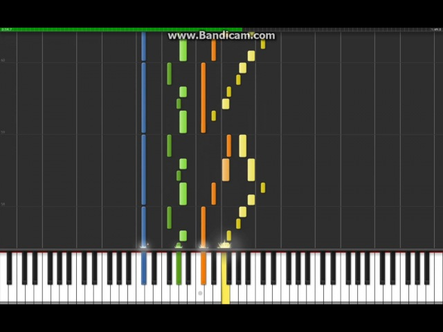 Carol Of The Bells Synthesia Cover Midi
