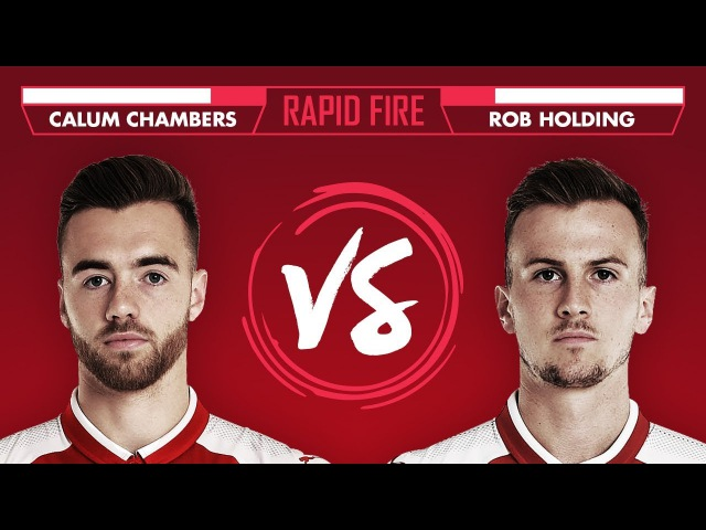 MESSI, HARRY POTTER THE FRESH PRINCE OF BEL AIR THEME? | Chambers v Holding - Rapid Fire