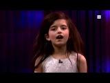 Семилетняя девочка взяла и спела песню Фрэнка Синатры