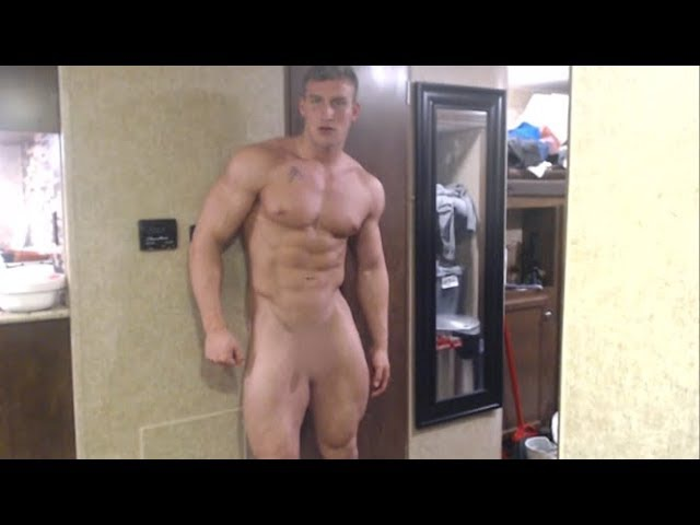 Powerful Muscle God Jamie Cocky Verbal Domination Flexing