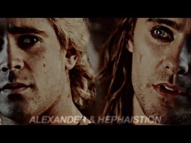 Alexander ✘ Hephaistion; illuminated