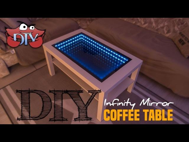 Infinity Mirror Coffee Table