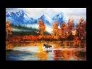 Александр Григорьев, пейзаж по фотографии, живопись маслом.