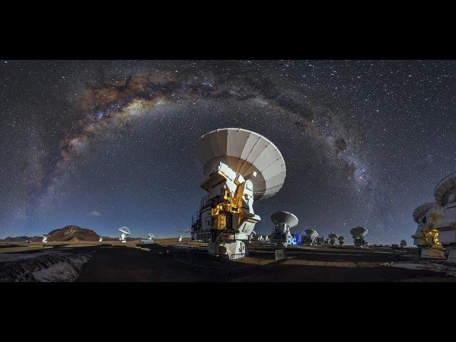 Самый большой радиотелескоп (ALMA) cfvsq ,jkmijq hflbjntktcrjg (alma)