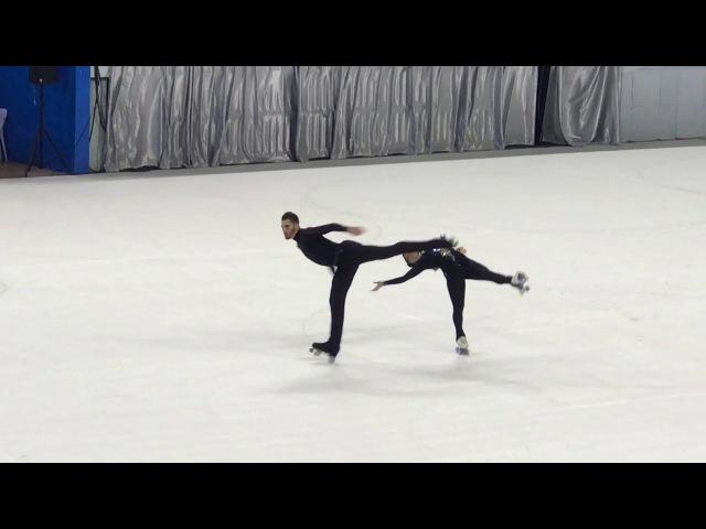 Luca Lucaroni и Rebecca Tarlazzi (Италия), золото - WRG 2017