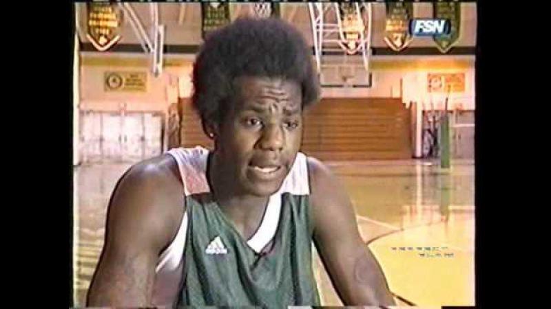 16 Years Old Lebron James! (Pre - Jr. Year News Segment)