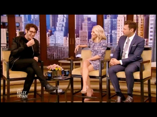 Live with Kelly and Ryan March 16 2018 Josh Radnor 'Rise' and Josh Groban 'The Good Cop'