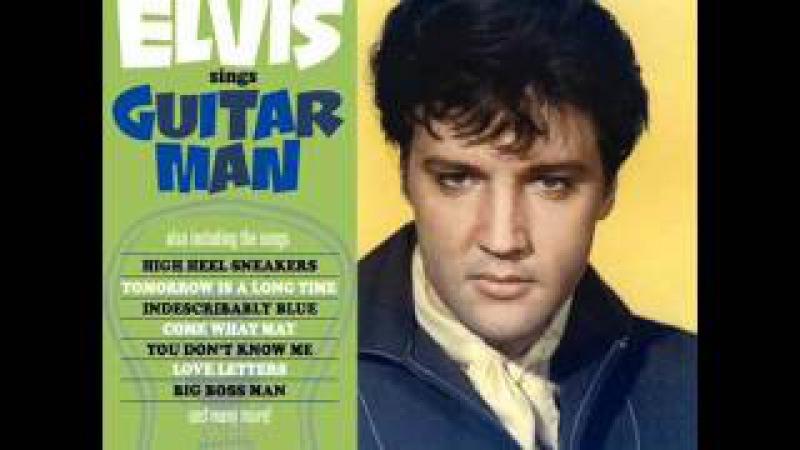 Rare Elvis-Indescribably Blue (Vocal Overdub Take 1) Guitar Man (FTD) Album