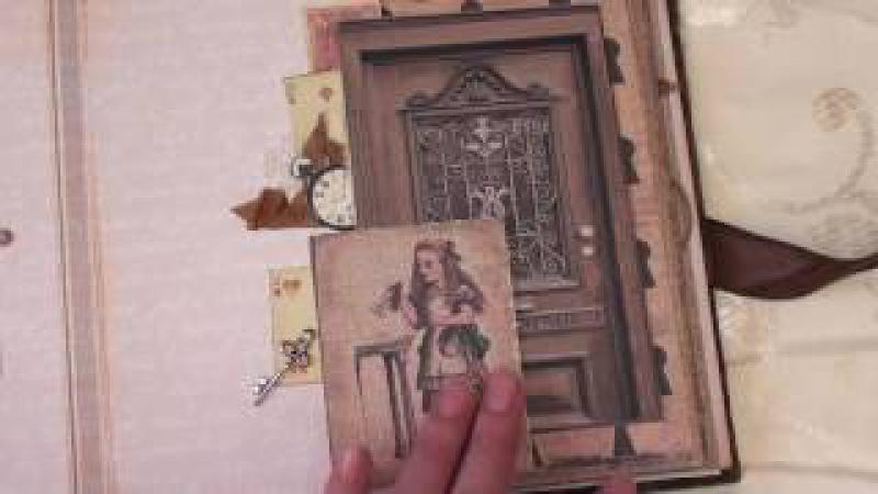 Скрапбукинг Фотоальбом Алиса в стране чудес