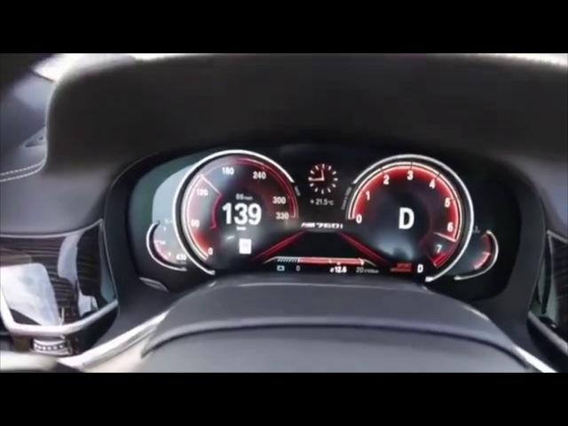 2018 BMW M760Li acceleration