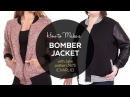 DIY How to Make a Bomber Jacket Sewing Tutorial