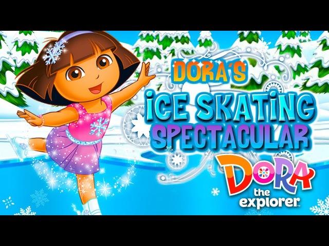 Dora the Explorer Dora's Ice Skating Spectacular Game for kids