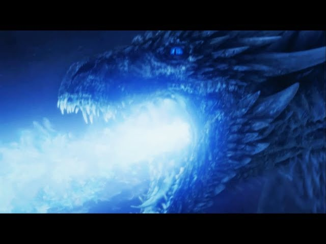 Король ночи на драконе разрушает стену | Армия мертвых идет на ЮГ | Игра престолов