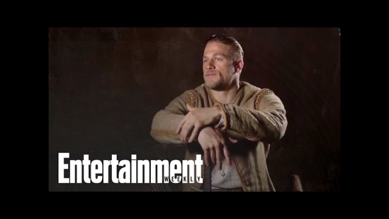 Charlie Hunnam On 'King Arthur: Legend of the Sword' With Guy Ritchie | Entertainment Weekly » Freewka.com - Смотреть онлайн в хорощем качестве