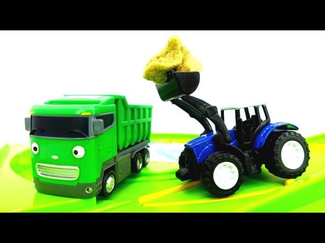 Giochi per bambini con le macchine-Le auto di servizio puliscono la strada-Episodi in italiano