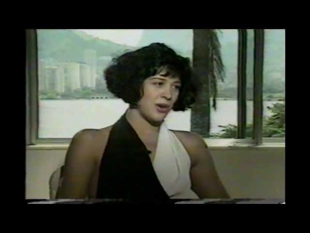 Cláudia Raia, trecho da entrevista com Bruna Lombardi. 1993