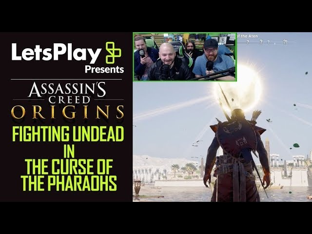 Assassin's Creed Origins: Fighting Undead In Curse Of The Pharaohs | Let's Play Presents | Ubisoft