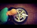 Ручная гравировка на металле. Легкосплавные диски. Ford probe 2