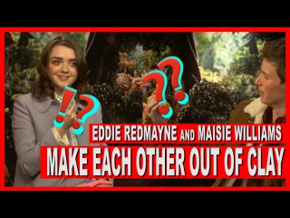 Eddie Redmayne and Maisie Williams test their multitasking skills in this hilarious interview