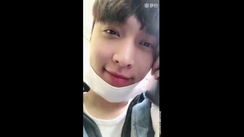 180316 ZHANG YIXING 张艺兴 LAY EXO — Zhang Yixing Studio Weibo Update