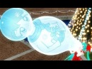 Pumping big balloon doll (blow to pop ending )