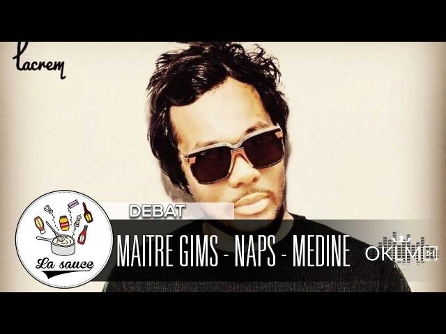 Le retour de Maitre Gims avec Sofiane et Vianney, Naps, Medine...- LaSauce sur OKLM Radio 13/03/18 {OKLM TV}