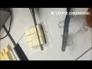 Mousse frío y pastel de queso cortado pequeño cuadrado CHEERSONIC ultrasónico