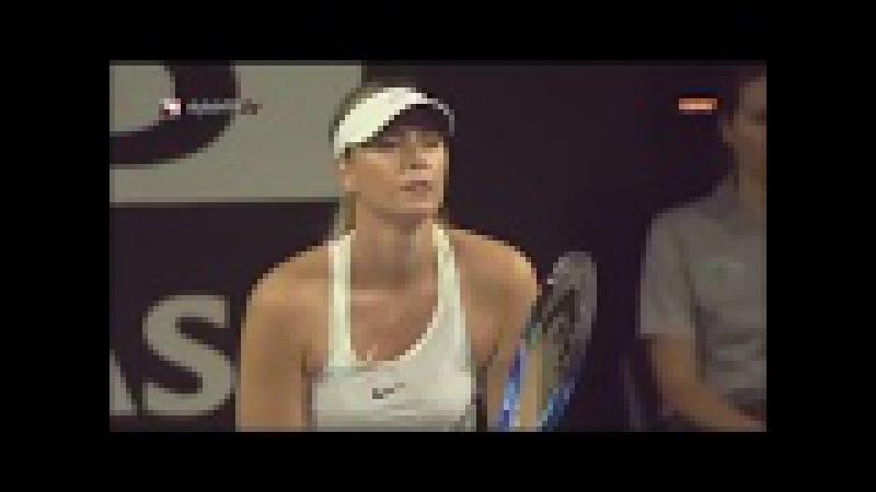 TEB BNP PARIBAS TENNIS STARS SERIES Maria Sharapova vs Çağla Büyükakçay (Part 5)