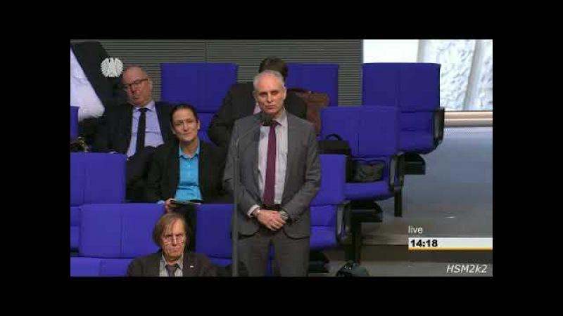 ► AfD - Thomas Ehrborn im Bundestag: Warum zahlen sie für eine wertlose Rechtsextremismus-Studie?