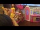 Видео с игрушками Барби в доме мечты, Барби приглашает принцесс в новый дом