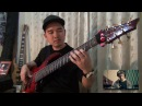 DIRTY LOOPS Over the Horizon bass cover by AOH