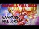 RAFAELA - SOLO KILL LORD EASY - MOBILE LEGENDS TEST