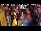 Large Hair, Bade Ball Wala Hijra, Kinner, Kiner, Shemale Hot Dance in Green Dress