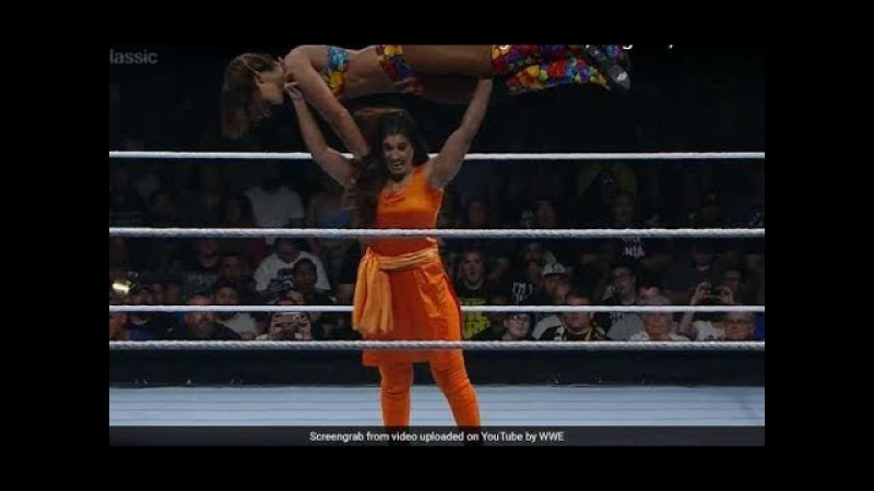 WWE fight, Women fighting in Public like Kavita Devi First Round Match, Mae Young Classic, you nev