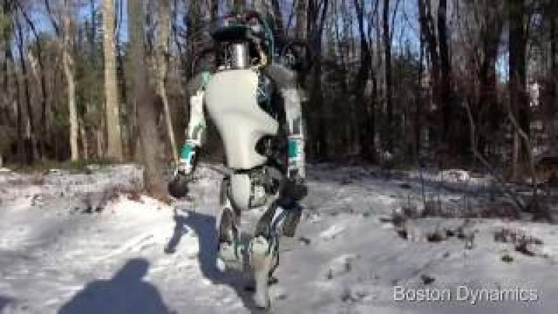 Робот идёт на работу Boston Dinamics